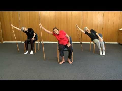 Senior Fitness – 99 year old keep fit teacher – Lesson 1