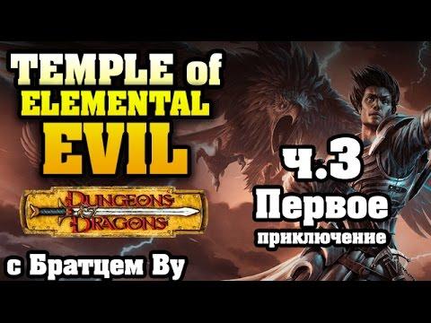 Temple of Elemental Evil с SiberianLemming, Banzayaz и Братцем Ву - первое приключение. 3 часть