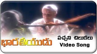 Video Bharateeyudu Movie || Pachani Chilukalu Video Song || Kamal Haasan, Sukanya, A. R. Rahman download in MP3, 3GP, MP4, WEBM, AVI, FLV January 2017
