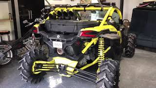 7. 2018 Canam X3 XMR Turbo R - 250 mile review & water crossing