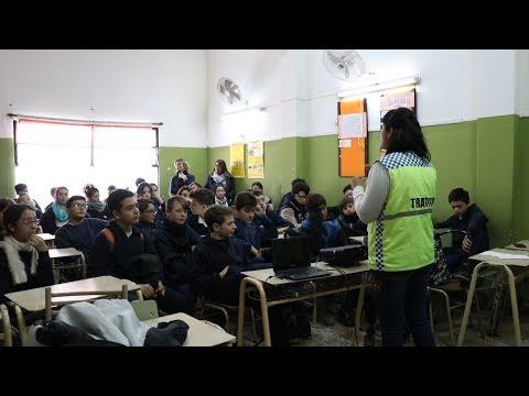 Alumnos del Colegio San José recibieron capacitación sobre seguridad vial