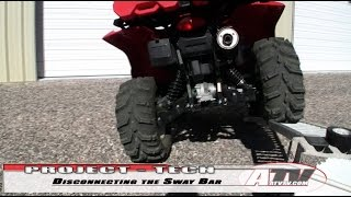 11. ATV Television - Removing the Swaybar on a Suzuki King Quad 750