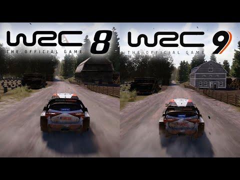 WRC 8 vs WRC 9 | Direct Comparison