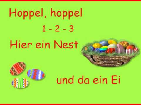 Hoppelsong - Kinderlied zum Osterfest