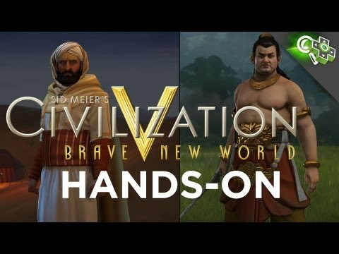 new world - We've already gotten a couple extended looks at Civilization 5's upcoming expansion Brave New World, but we finally got to play it for ourselves. Check out Z...