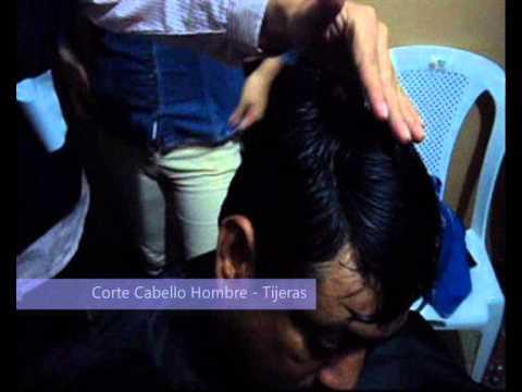Dm LAc – Corte Cabello Hombre con tijeras