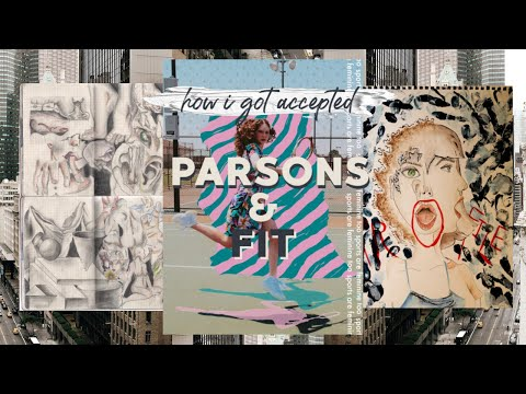 Parsons and FIT Accepted Portfolio + Scholarship!