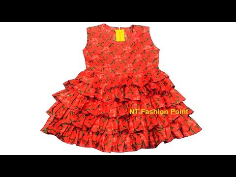 Video Ruffle wedding baby dresses gowns 2018 | Baby girl party dress | Cutting & Stitching download in MP3, 3GP, MP4, WEBM, AVI, FLV January 2017