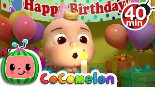 Happy Birthday Song   +More Nursery Rhymes & Kids Songs - Cocomelon (ABCkidTV)