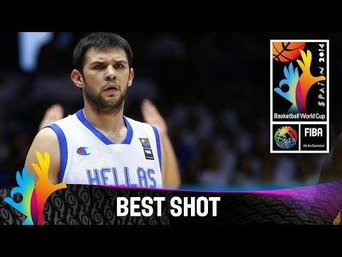 Shot - Watch the best shot of Greece v Senegal by Kostas Papanikolaou. The 2014 FIBA Basketball World Cup will take place in Spain from 30 August - 14 September and will feature the best international...