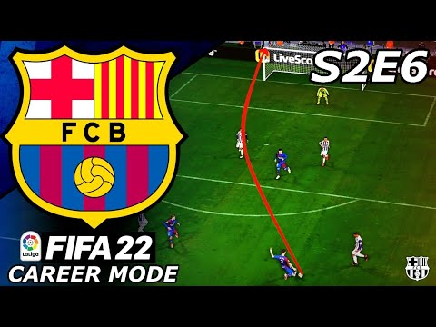 OUR NEW SIGNING SCORES A WORLDIE!!🎯- FIFA 22 Barcelona Career Mode S2E6