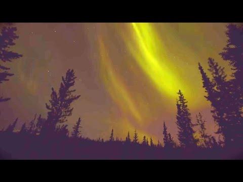 Aurores boréales au Yukon
