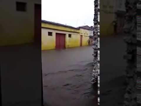 CHUVA FORTE EM VITÓRIA DE SANTO ANTÃO - ESTRADA NOVA