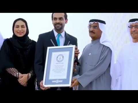 Wideo1: Record Guinnessa dla ViaCon z Rydzyny za największą konstrukcję z blach falistych na świecie