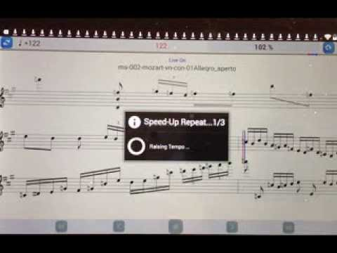 Video of Practice Player Live Midi Try