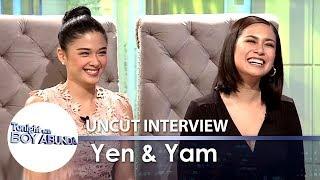 Video TWBA Uncut Interview: Yen Santos & Yam Concepcion MP3, 3GP, MP4, WEBM, AVI, FLV Desember 2018