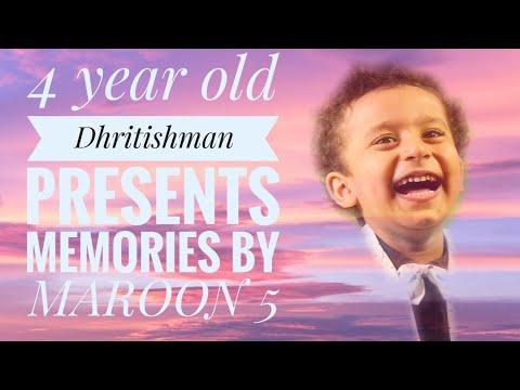 #Memories I By four year Dhritishman #Maroon5 I Mimo I LYRICAL I COVER I REMIX I PIANO I LIVE