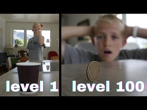 TRICK SHOTS from level 1 to level 100 I Seth TrickShots