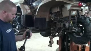 3. How to install rear Yamaha axle