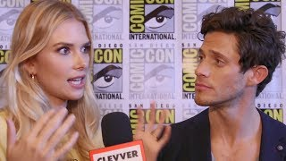 Today's episode is brought to you by T-Mobile. With unlimited data, you can fuel your fandom like never before on America's Fastest Unlimited LTE Network. Nobody does unlimited like T-Mobile. http://bit.ly/2uAVOhvMore Celebrity News ►► http://bit.ly/SubClevverNewsThe cast of Stitchers spill spoilers for the remaining episodes of season 3 at SDCC 2017.For More Clevver Visit:There are 2 types of people: those who follow us on Facebook and those who are missing out http://facebook.com/clevverKeep up with us on Instagram: http://instagr.am/ClevverFollow us on Twitter: http://twitter.com/ClevverTVWebsite: http://www.clevver.com Add us to your circles on Google+: http://google.com/+ClevverNewsTweet Me: http://www.twitter.com/