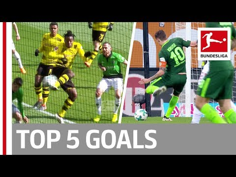 Batshuayi, Kalou, Kruse & More  - Top 5 Goals on Matchday 27 (видео)