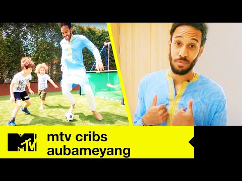 EP#2 FIRST LOOK: Arsenal Star Aubameyang's Amazing Crib | MTV Cribs: Footballers Stay Home