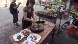 Thai Nguyen Vietnam  city photos gallery : Street food Thai Nguyen Vietnam เป็ดย่างเมืองไทเหวียนประเทศเวียด