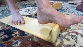The NEW Foot Friend massage tool is now available!  Check it out!  http://www.brettsnaturalhealth.com/product/soother-massage-tools/ Become a Patreon!  Get my PRIVATE videos for just $5/month as a paid subscriber!  https://www.patreon.com/BrettRodgers  Thanks for watching my videos!  Here are some links to products on my website:  Millet hull pillows:  http://www.brettsnaturalhealth.com/product/organic-millet-pillows/  Adjustable orthotics:    http://www.brettsnaturalhealth.com/product/adjustable-orthotics-2/  Soother & Foot Friend tools:  http://www.brettsnaturalhealth.com/product/soother-massage-tools/    Wood rollers:  http://www.brettsnaturalhealth.com/product/wooden-body-rollers-massage-tools/  Lanna rollers:  http://www.brettsnaturalhealth.com/product/lanna-roller-wooden-body-roller/  Back supports:  http://www.brettsnaturalhealth.com/product/back-support/  Friend me on Facebook:  https://www.facebook.com/Healthvideos4u  Make a donation:  http://www.brettsnaturalhealth.com/donate/   Thanks so much!Buy anything on Amazon and I'll make a commission!  Any Amazon affiliate product link on my site connects you to Amazon where I'll make 6% of ANYTHING you buy at that time!  Thank you!  http://www.brettsnaturalhealth.com/product/clay-ice-pack-excellent-non-toxic/