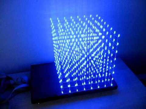 LED Cube Video