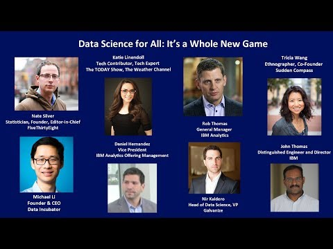 , title : 'Data Science for All: It's a Whole New Game'