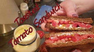 Toasted Tomato Sandwich