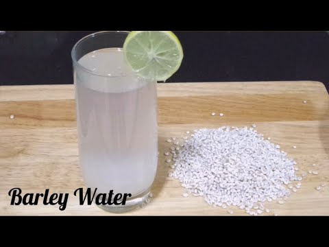 Barely Water for Weight loss