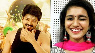 "Video ""Want to act with Vijay sir, Dhanush sir and Suriya sir"" | Priya Prakash Varrier | Oru Adaar Love MP3, 3GP, MP4, WEBM, AVI, FLV Maret 2018"