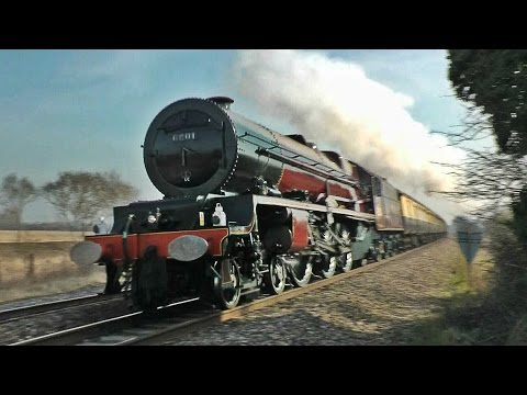 Steam Trains at Speed