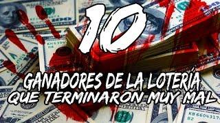 10 Ganadores de la lotería QUE TERMINARON MUY MAL