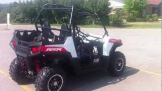 7. 2012 Polaris RANGER RZR® 800 White/Red LE  White Lightning/Red