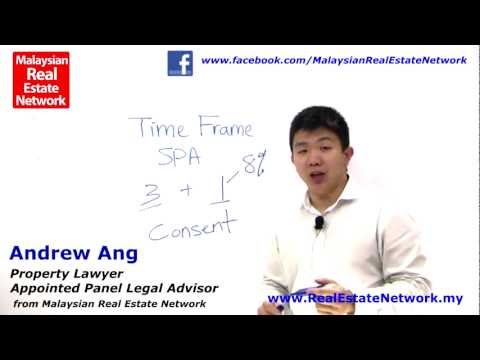 Property Investment Malaysia Legal Tips No 5 - What Is TimeFrame in Sales and Purchase Agreement?