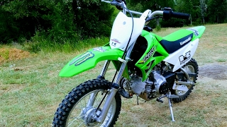 10. 2017 Kawasaki KLX110 On The Trails