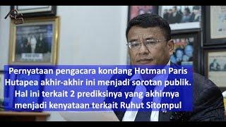 Video Ruhut Masuk PDIP, 2 Prediksi Hotman Paris Menjadi Kenyataan MP3, 3GP, MP4, WEBM, AVI, FLV Juli 2018