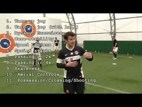 Edge of Play: Pre Match Warm Up (видео)