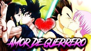 Download Lagu GOKU & CHICHI vs. VEGETA & BULMA || ❤😍 AMOR DE GUERRERO 😍❤ || RAP ROMÁNTICO 2017 Mp3