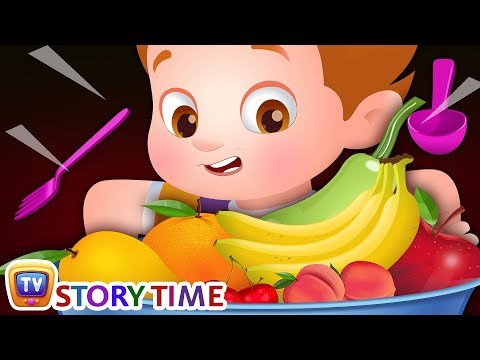 ChaCha The Fussy Eater - Yes Yes Vegetables & Fruits - ChuChuTV Good Habits Moral Stories for Kids
