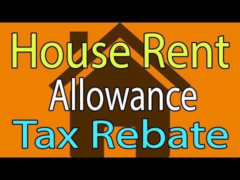 HRA Calculation & Taxability - Hindi Video House Rent Allowance Tax Rebate