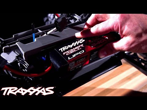 Traxxas X-Maxx Innovation Series: Battery Compartments
