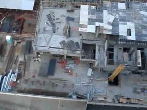 Construção do Shopping Aurora e do Palhano Bussines Center Na Gleba Palhano 08-08-12.