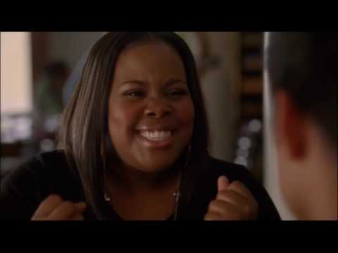 Glee - Kurt and Blaine thank mercedes and mike for being there 4x21 (видео)