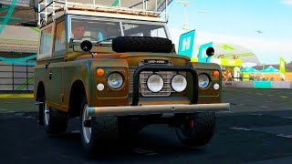 Forza Horizon 3 - Part 91 - Huge Engine in a Land Rover Series III?!