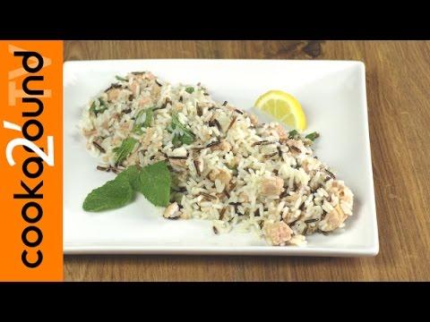 riso selvaggio con tonno e limone - ricetta