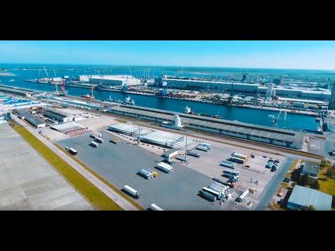 Hafenszene MV: Große Investitionen im Seehafen Rostoc ...