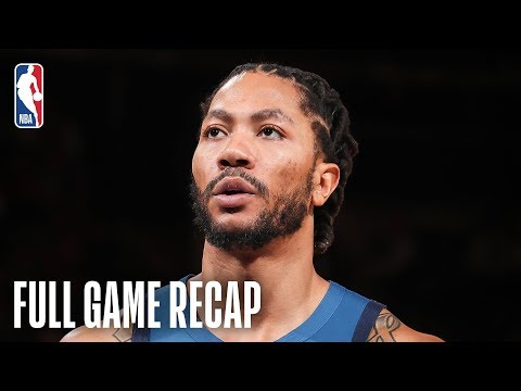 Video: TIMBERWOLVES vs KNICKS | Balanced Attack Leads MIN | February 22, 2019